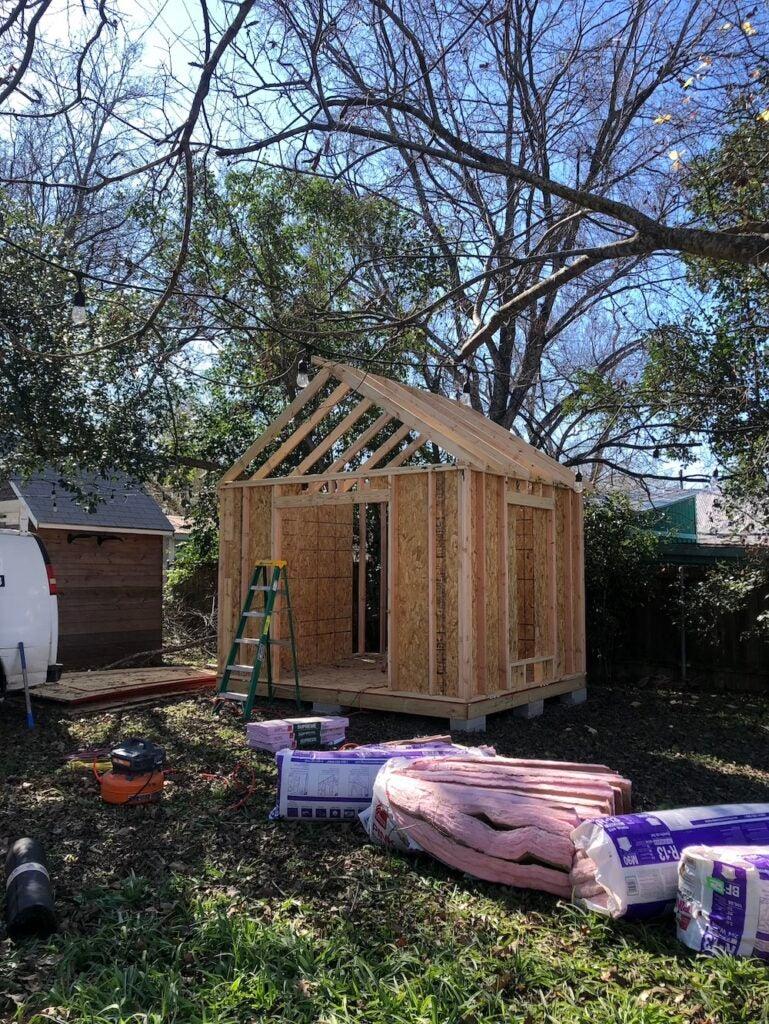 I Built My Dream Backyard Workspace for $8K