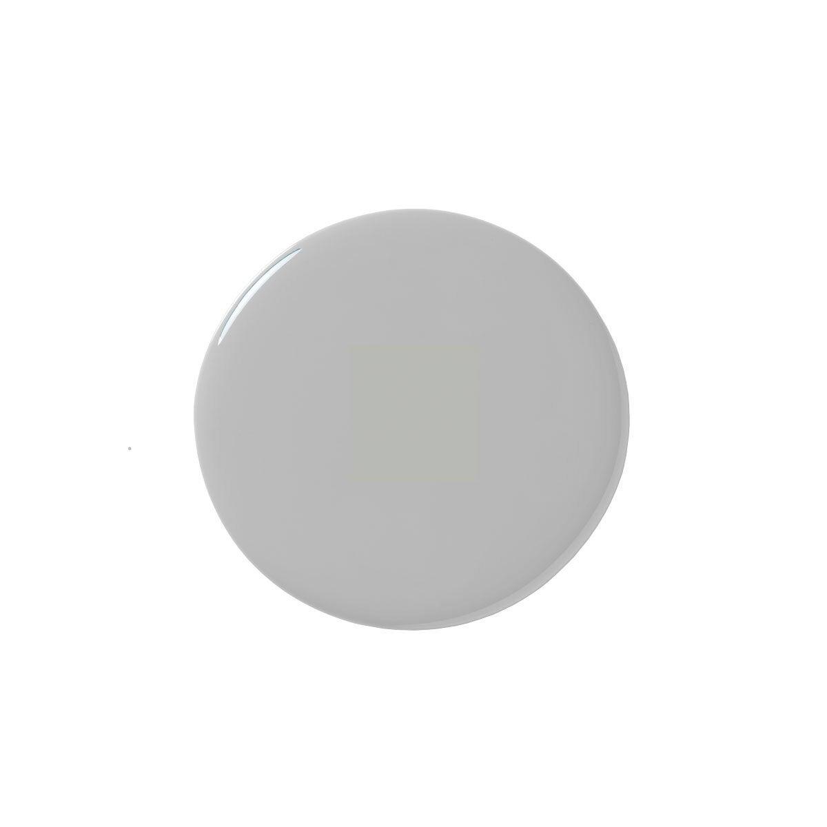 grey paint blob