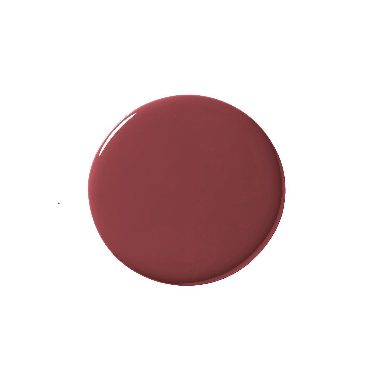 dark red paint blob