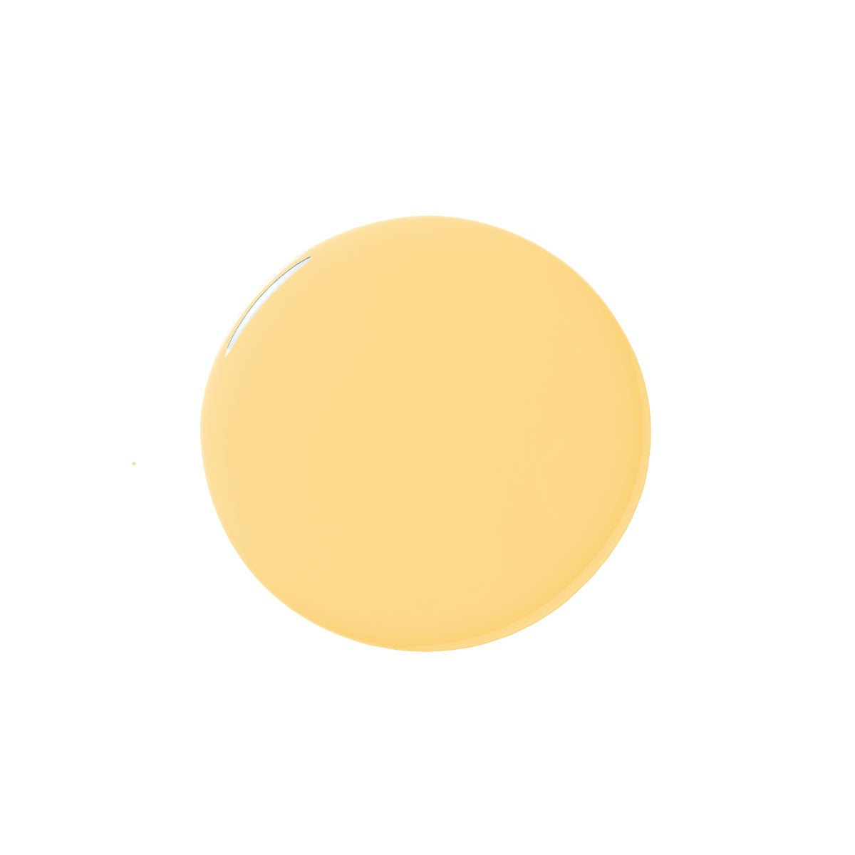 yellow paint blob