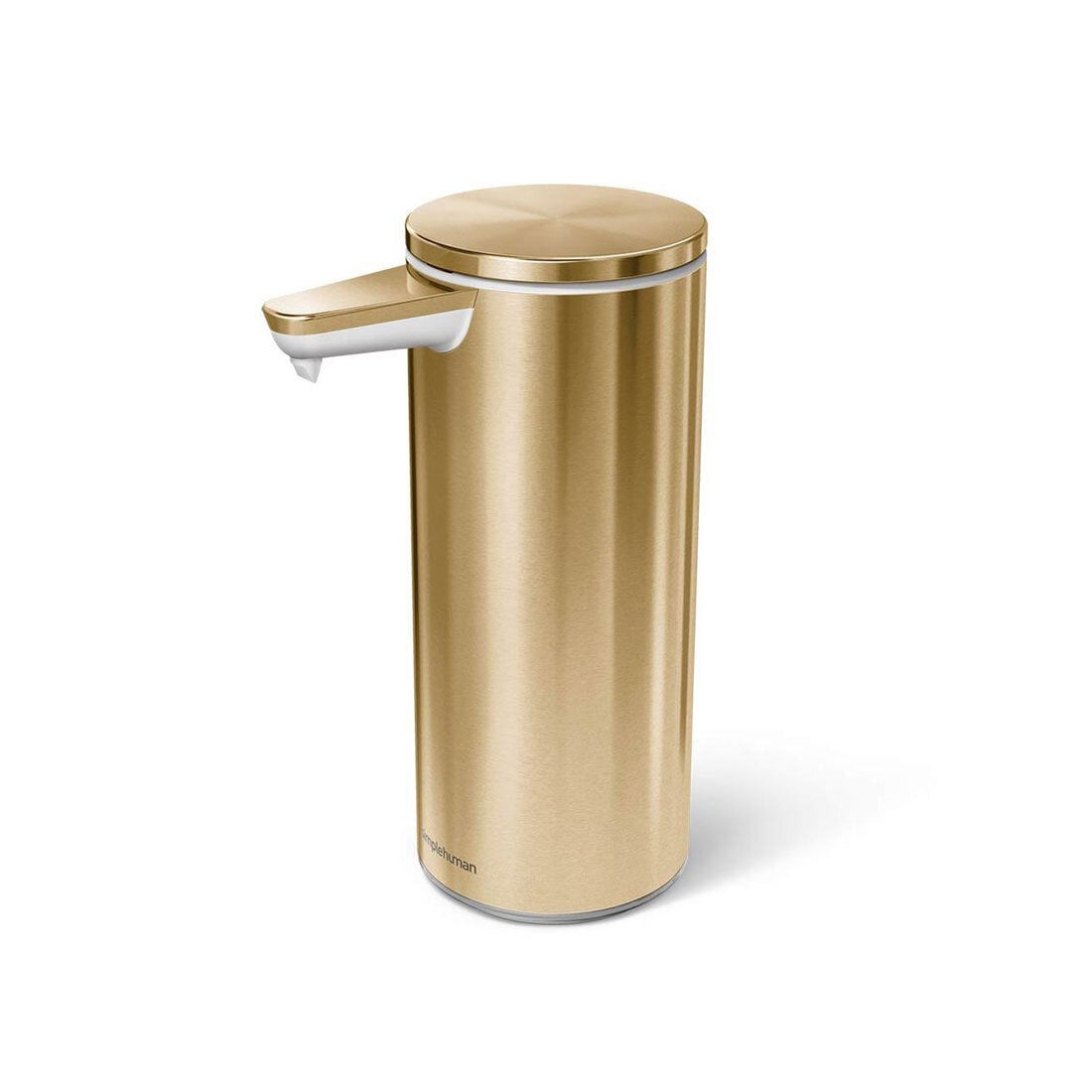 brass hand sanitizer dispenser