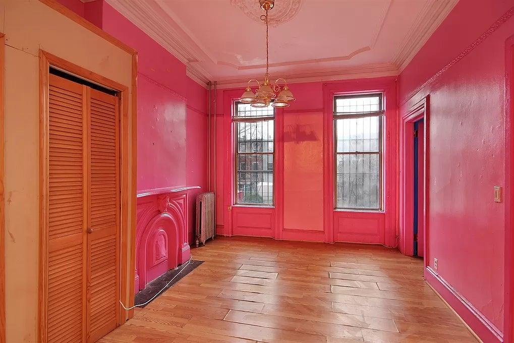 old hot pink bedroom