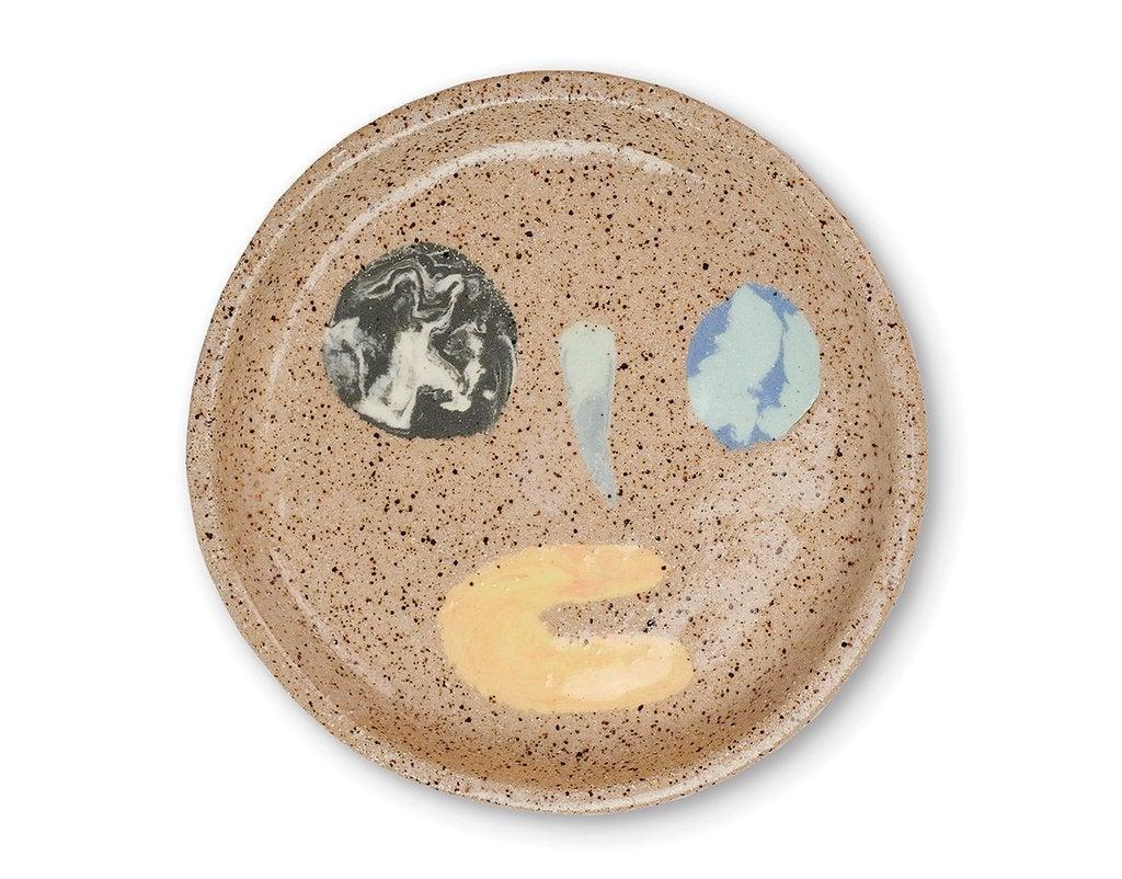 ceramic face ashtray