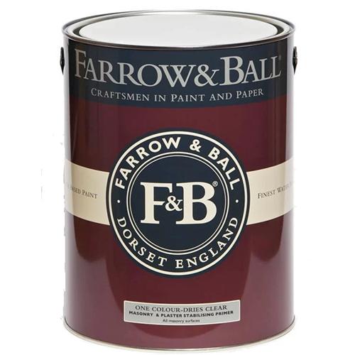 Farrow & Ball Masonry Paint Finish for Concrete