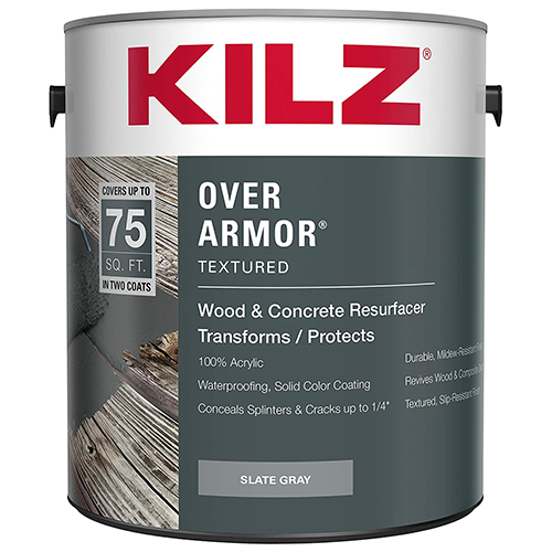 Can of Over Armor by KILZ