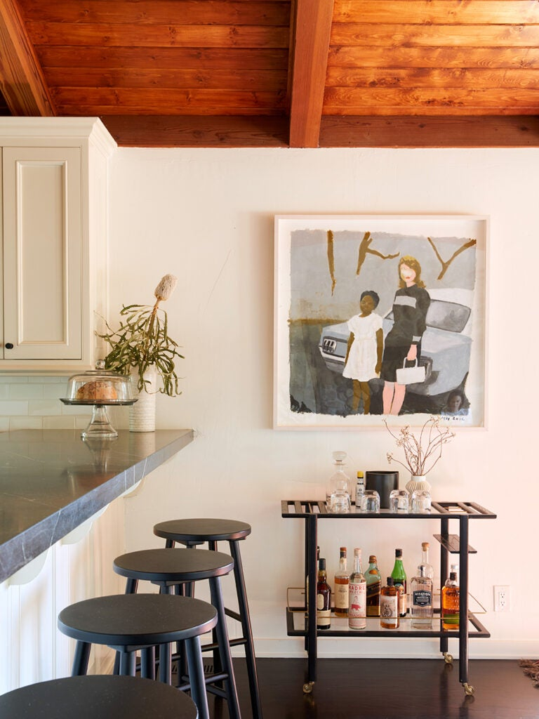 The Tucked-Away Los Angeles Home of Two Self-Proclaimed Artsy Addicts