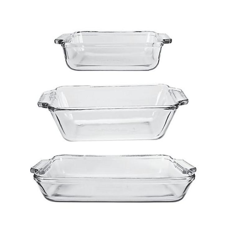 glass bakeware set