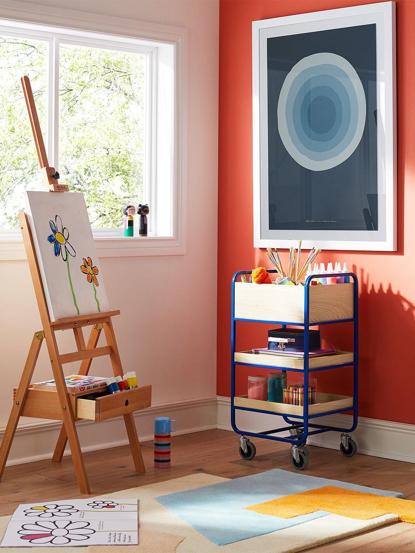 colorful kids playroom